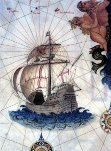 a carrack (portuguese globe-trotter_16th century)